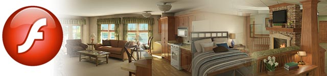 3d Animation: Landis Homes - Flash Video